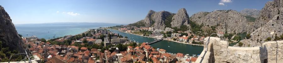 croati omis panorama
